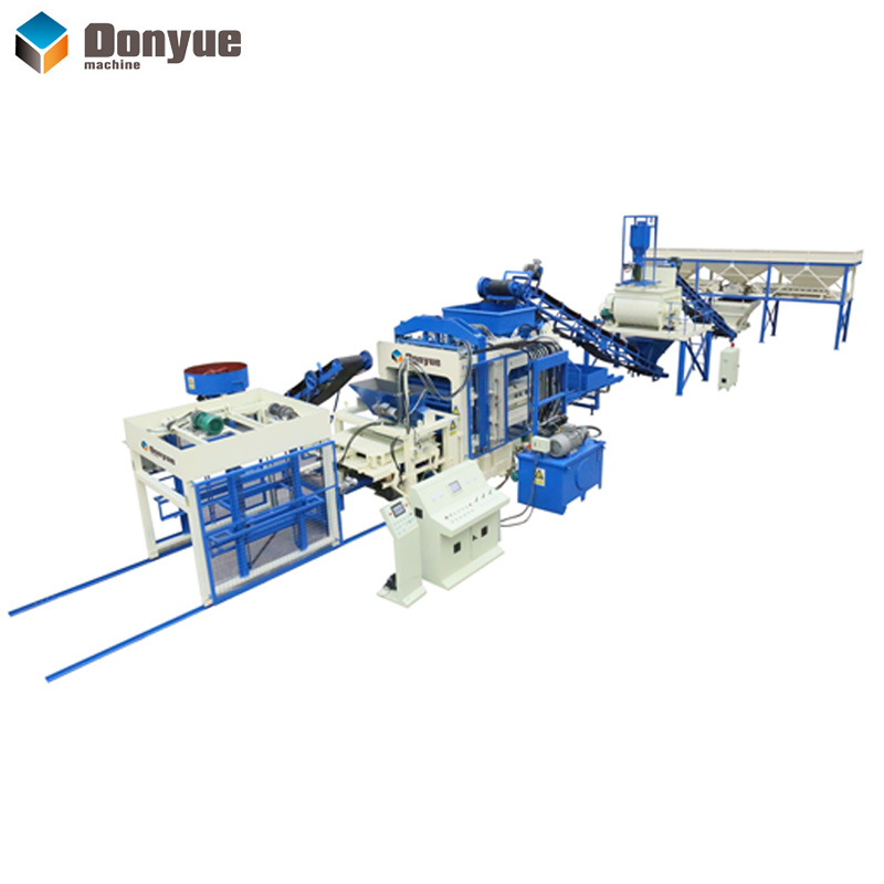 QT12-15 Automatic brick production line